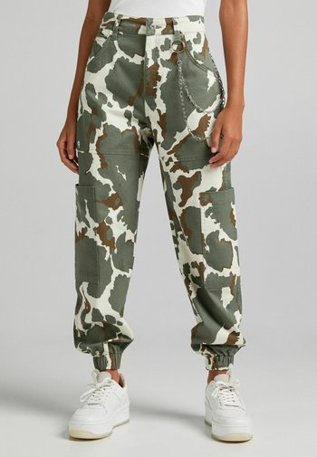 MIT KETTE - Pantaloni cargo - dark green