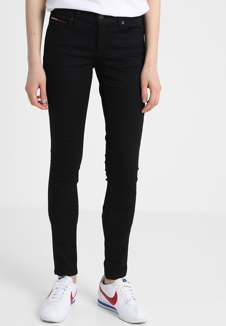 Tommy Jeans - MID RISE NORA - Jeansy Skinny Fit - dana black