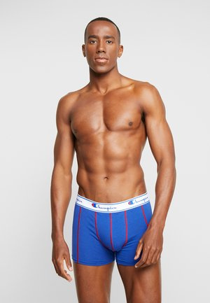 2 PACK - Boxerky - red/royal blue