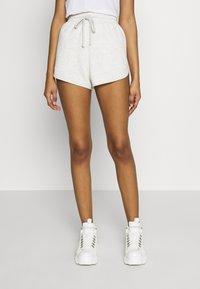 Topshop - 90S RUNNER - Shorts - grey marl - 0
