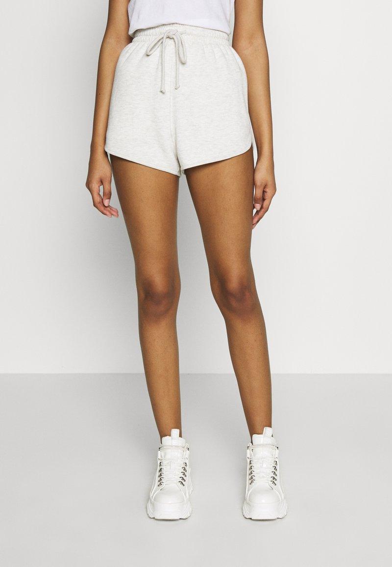 Topshop - 90S RUNNER - Shorts - grey marl