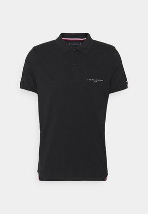 CLEAN SLIM - Polo - black