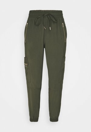 SOFT UTILITY - Tracksuit bottoms - khaki