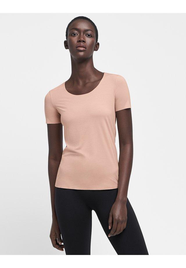 AURORA PURE  - T-shirt basique - rose tan