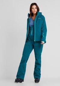 PYUA - BLISTER - Snowboard jacket - petrol blue - 1