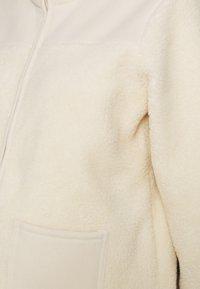 Pieces Maternity - PCMSADIE  - Fleece jacket - whitecap gray - 2