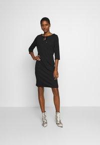 Re.draft - COZY DRESS - Denní šaty - black - 1