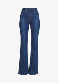 Lee - SUPER HIGH FLARE OPTIX - Jeans a zampa - jackson worn - 4