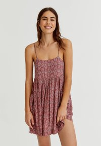 PULL&BEAR - Day dress - red - 0