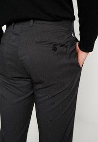 Antony Morato - SLIM JACKET BONNIE PANTS  - Kostym - black - 7
