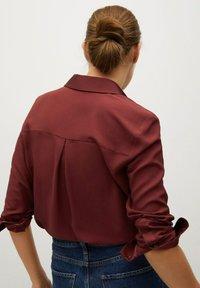 Mango - BIMA - Button-down blouse - bordeaux - 2