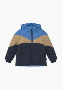 Gosoaky - WORKING WEASEL UNISEX - Winter jacket - marina blue/multicolour - 0