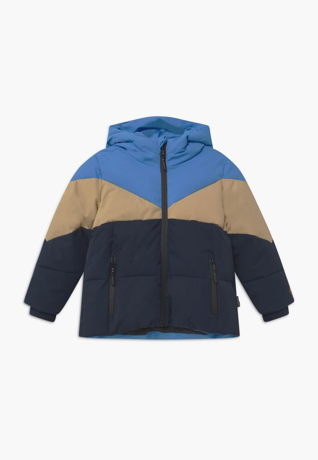WORKING WEASEL UNISEX - Winter jacket - marina blue/multicolour