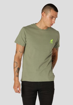 BRADY  - T-shirt basic - dusty green