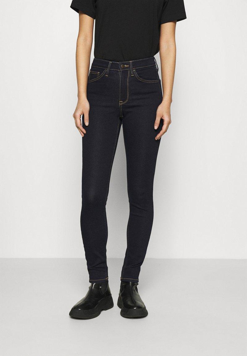 Anna Field - Slim fit jeans - dark blue denim