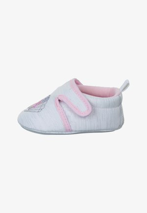 BABY-KRABBELSCHUH - First shoes - weiss