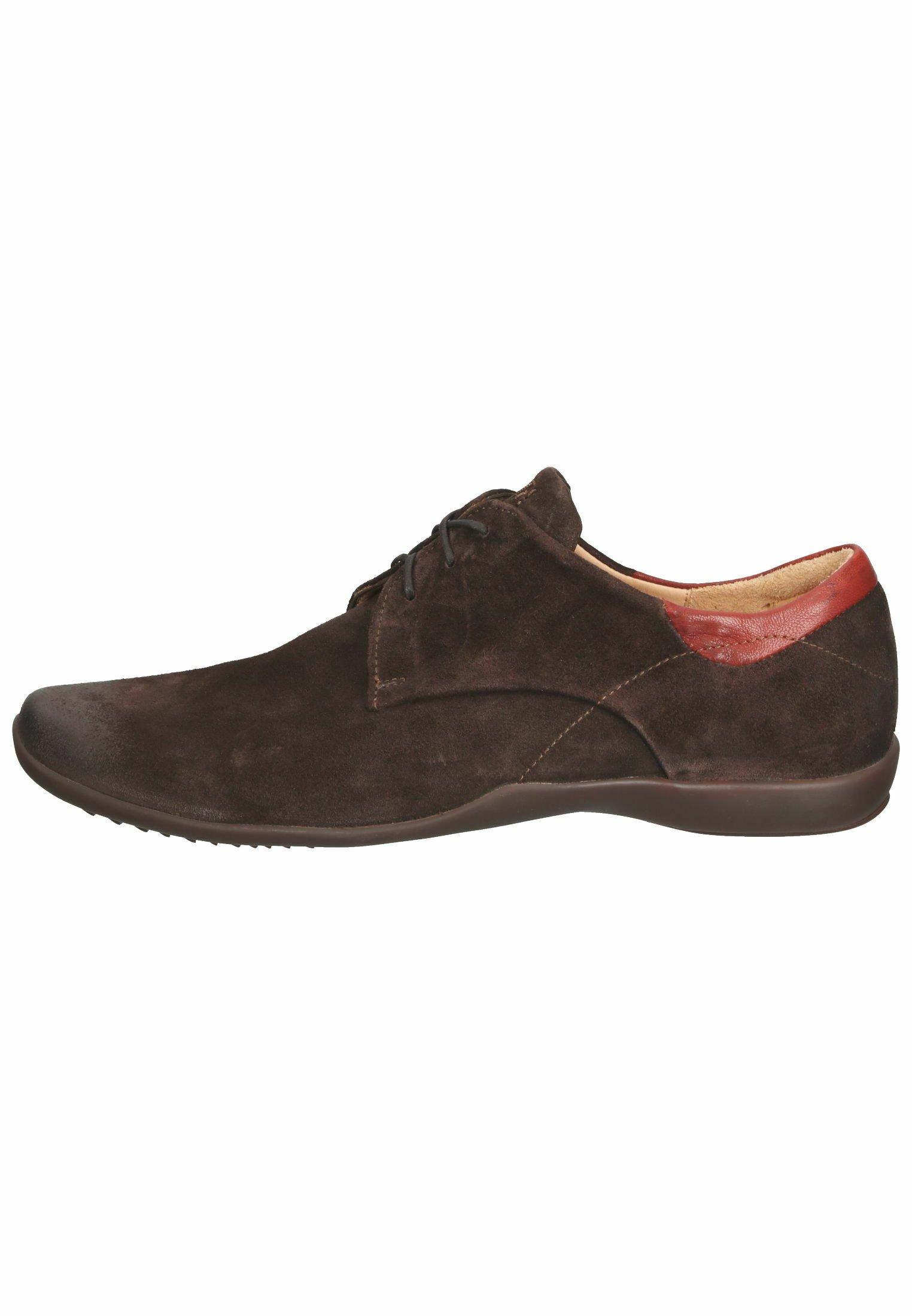 Homme Chaussures à lacets - mocca/kombi