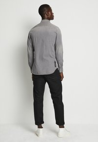 G-Star - 3301 SLIM SHIRT L\S FADED DUST GREY MEN - Camicia - faded dust grey - 3