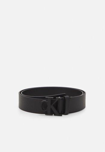 MONO PLAQUE BELT - Belt - black