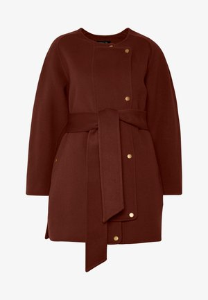 JANE - Classic coat - cannelle