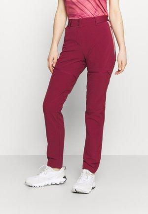 PEDROC - Pantaloni - rhodo red