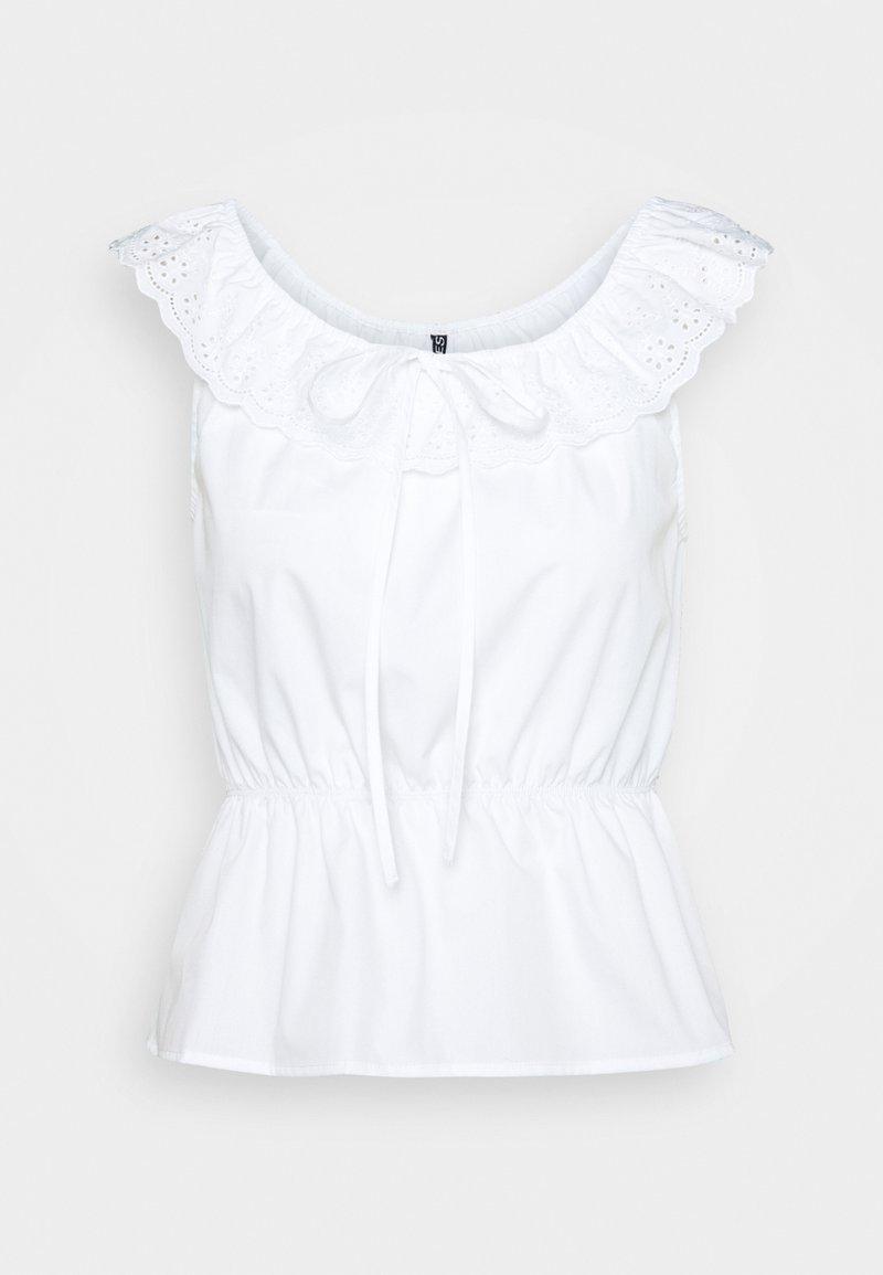 Pieces Petite - PCTUNIMA - Print T-shirt - bright white