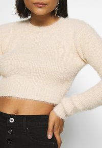 Ivyrevel - CROPPED FUZZY - Jumper - natural - 4