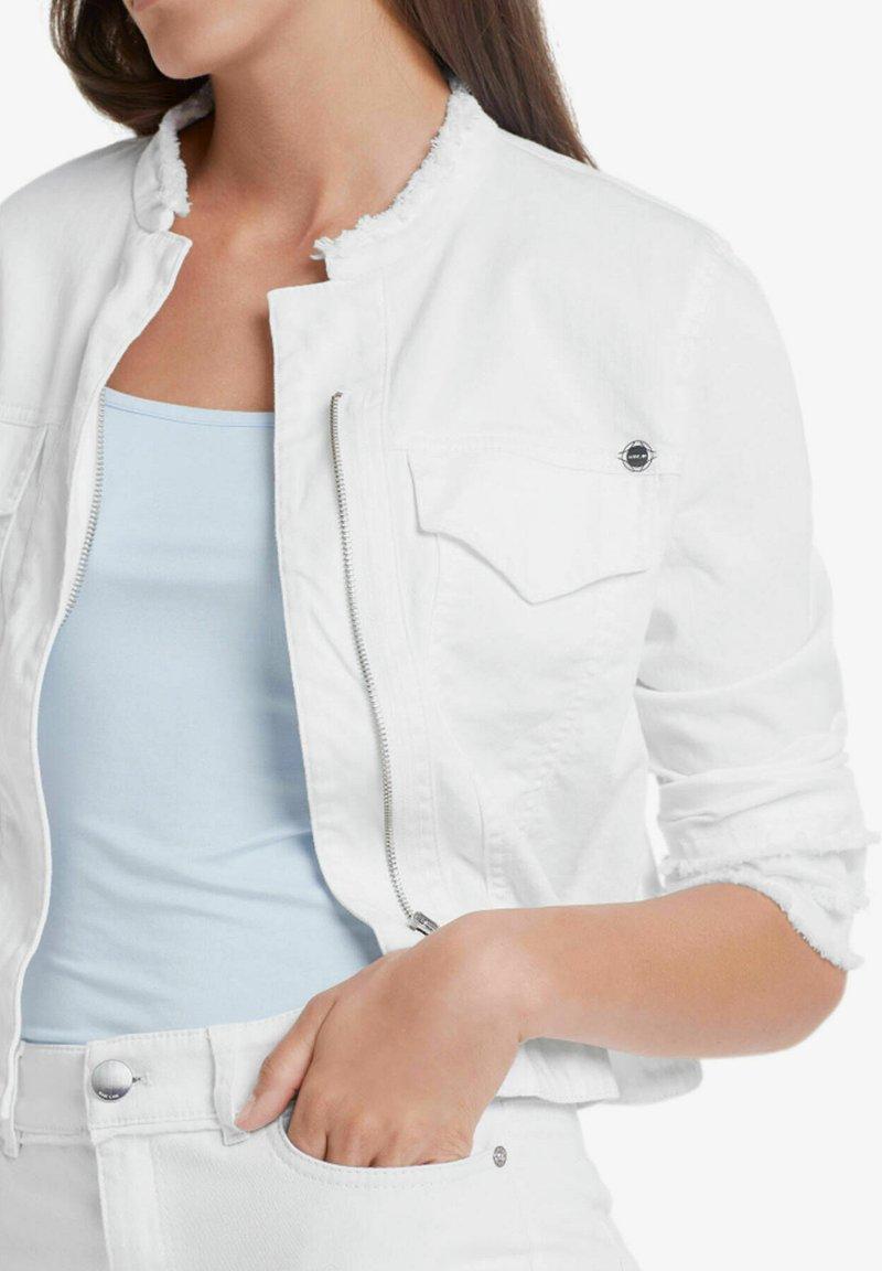 Marc Cain - Denim jacket - weiss