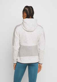 CMP - WOMAN JACKET FIX HOOD - Veste polaire - white - 2