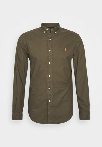 LONG SLEEVE SPORT - Shirt - defender green