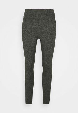 THE HUGGER BASIC LEGGING - Leggings - Trousers - olive daze/black