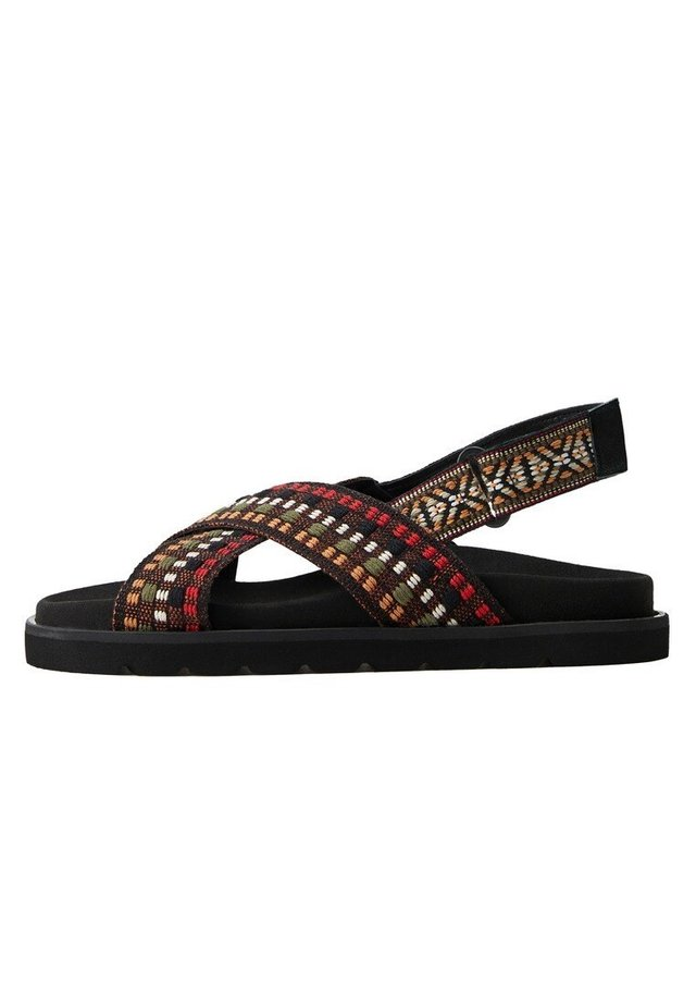 PADDLE - Sandals - schwarz