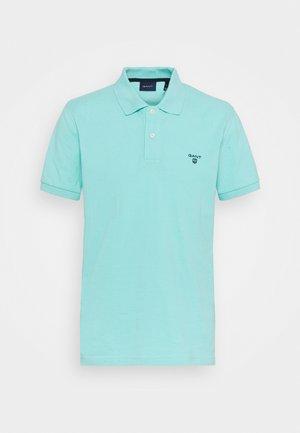 SUMMER RUGGER - Polo shirt - aqua sky
