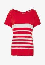 KURZARM - T-shirt z nadrukiem - red