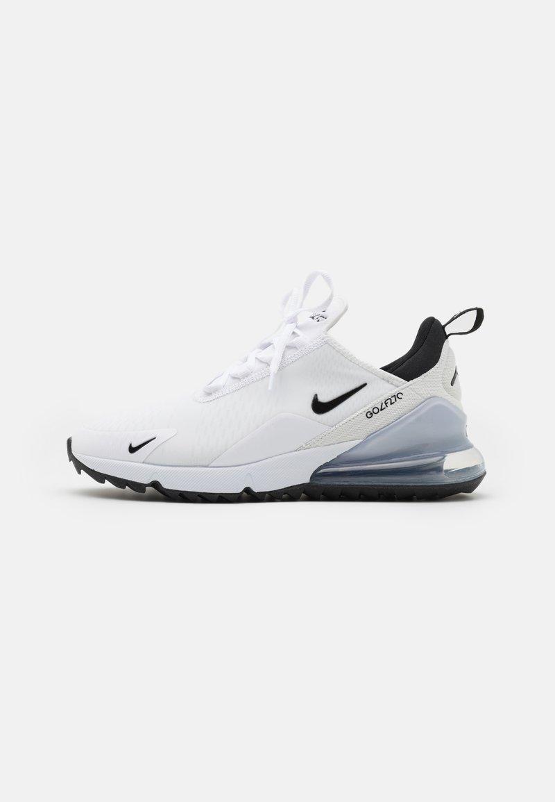 Nike Golf - AIR MAX 270 G - Golfskor - white/black/pure platinum