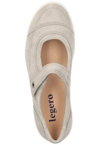 Legero - Ankle strap ballet pumps - grey - 1