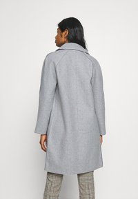 ONLY Petite - BERNA BONDED COAT - Klasický kabát - light grey melange - 2