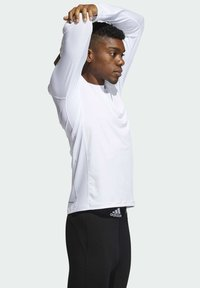 adidas Performance - Long sleeved top - white - 2