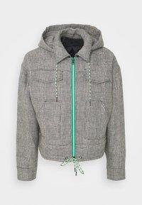 Viktor&Rolf - THE PRINCE OF WALES KANGAROO JACKET - Summer jacket - grey - 6