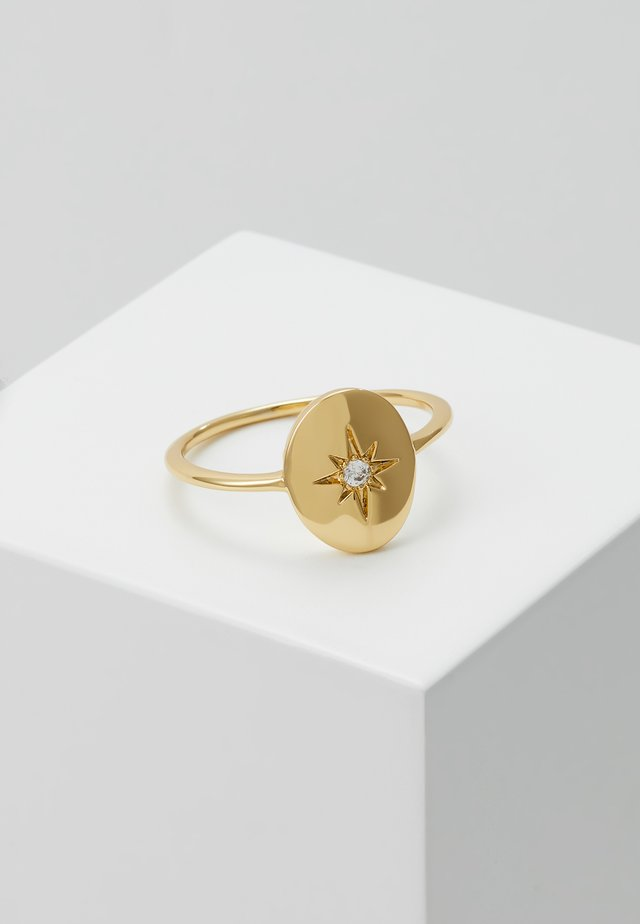 STAR RING - Bague - gold-coloured