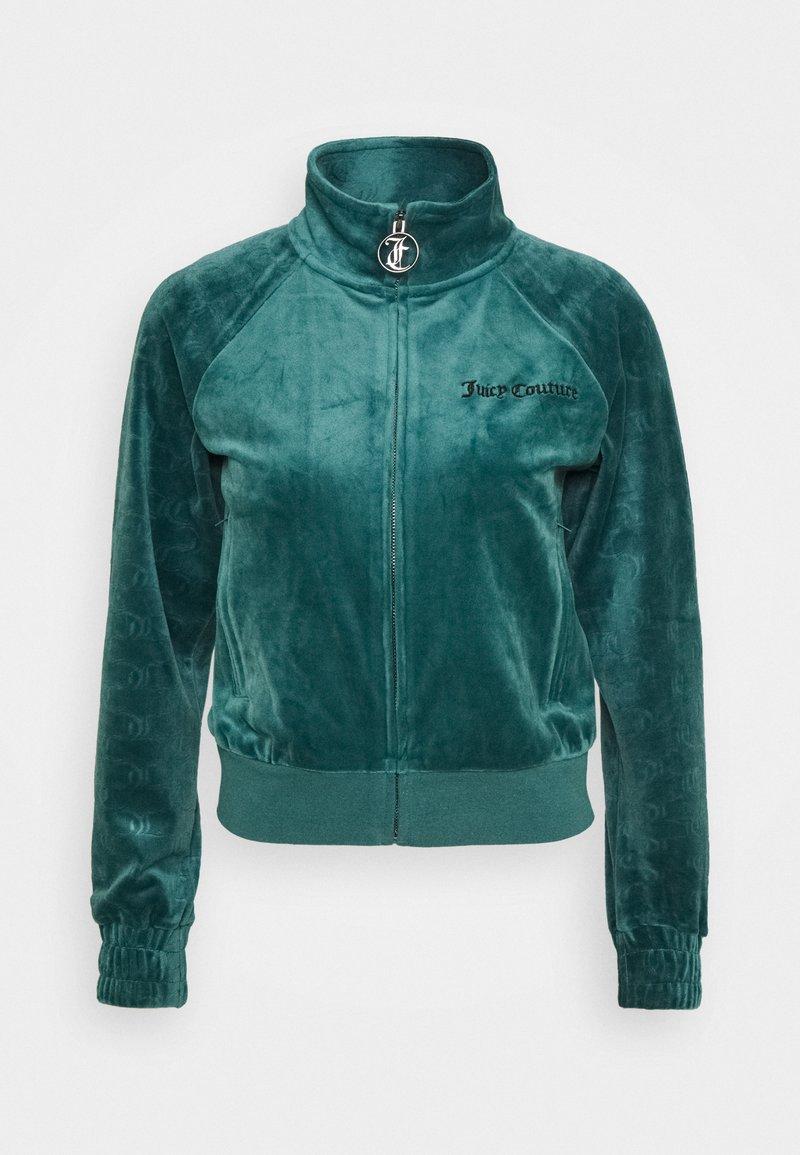 Juicy Couture AURORA - Sweatjacke - sea moss/grün AJqTPb