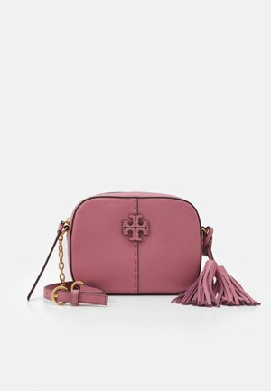 MCGRAW CAMERA BAG - Bandolera - pink magnolia