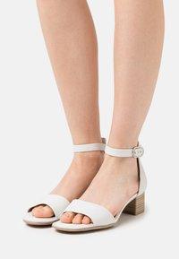 Tamaris GreenStep - Sandals - white - 0