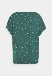 Ragwear - PECORI - T-shirts med print - dark green - 1