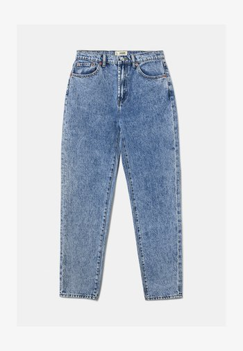 Jeans Tapered Fit - rinsed denim
