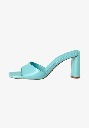 High Heel Sandalette - light blue