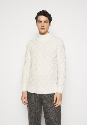 NANDO - Jumper - white