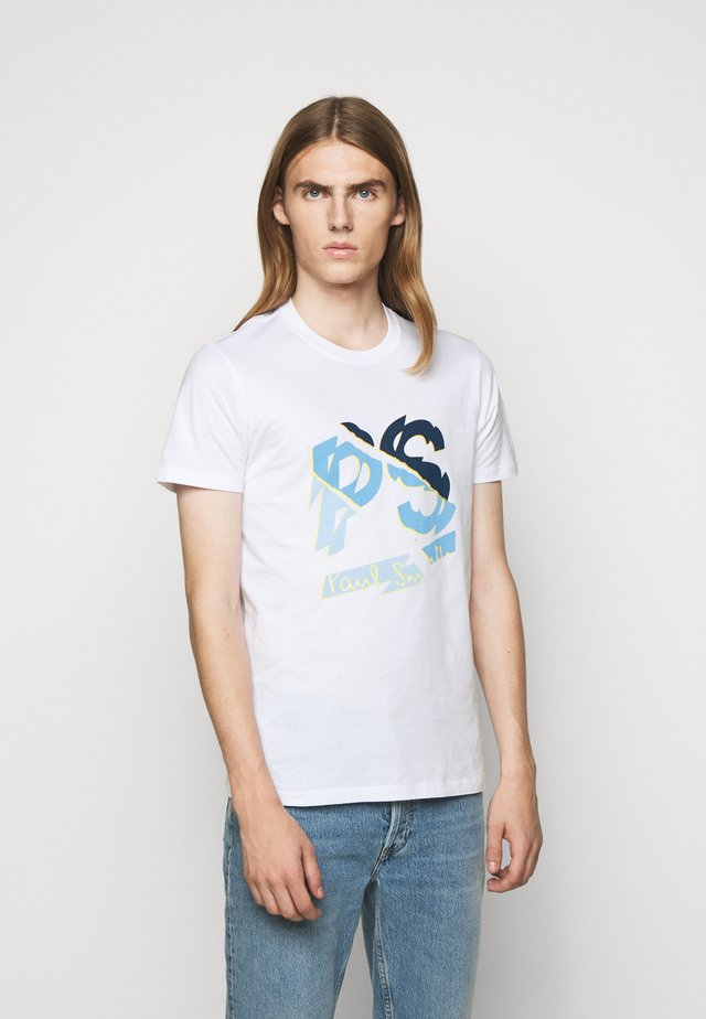 PS SHATTER - T-shirt con stampa - white