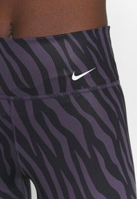 Nike Performance - ONE - Leggings - dark raisin/white - 6