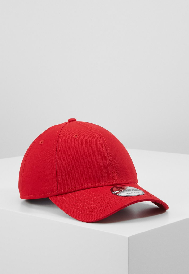 New Era - BASIC FORTY - Cap - scarlet/whte